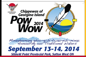 Chippewas of Georgina Island Powwow 2014
