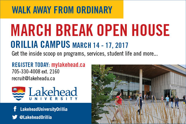 Lakehead-Orillia 2017 March Break
