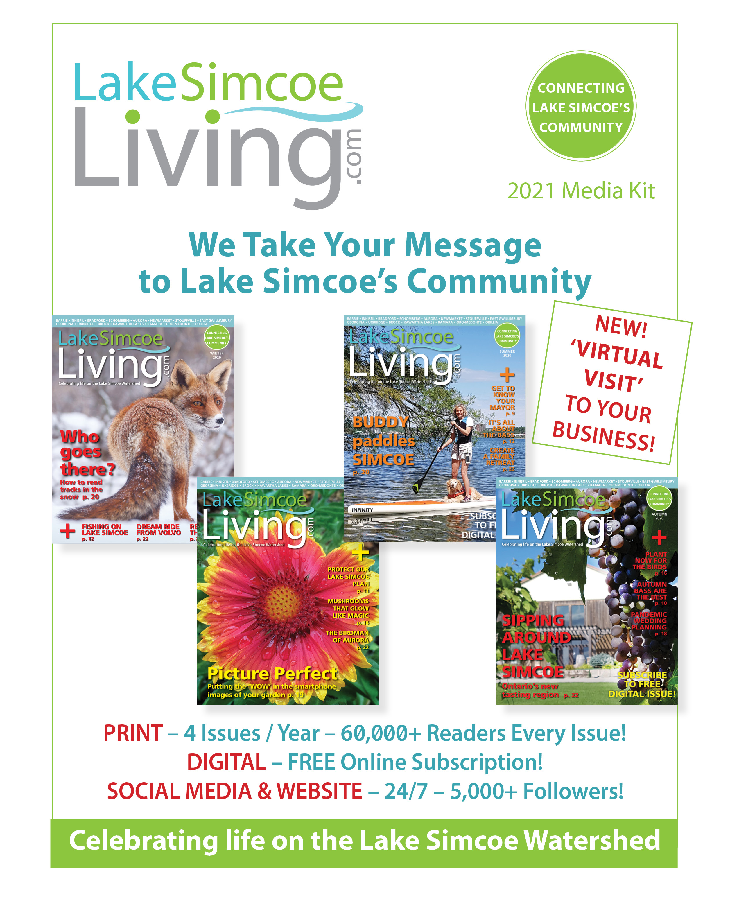 2021 Lake Simcoe Living Media Kit
