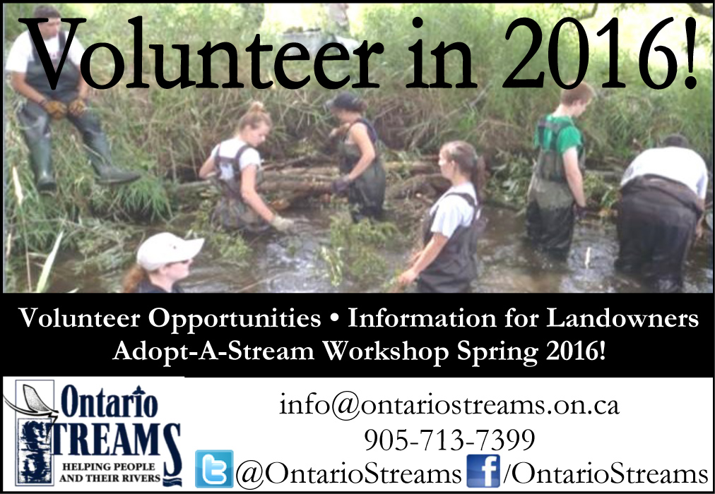 Ontario Streams - Volunteer