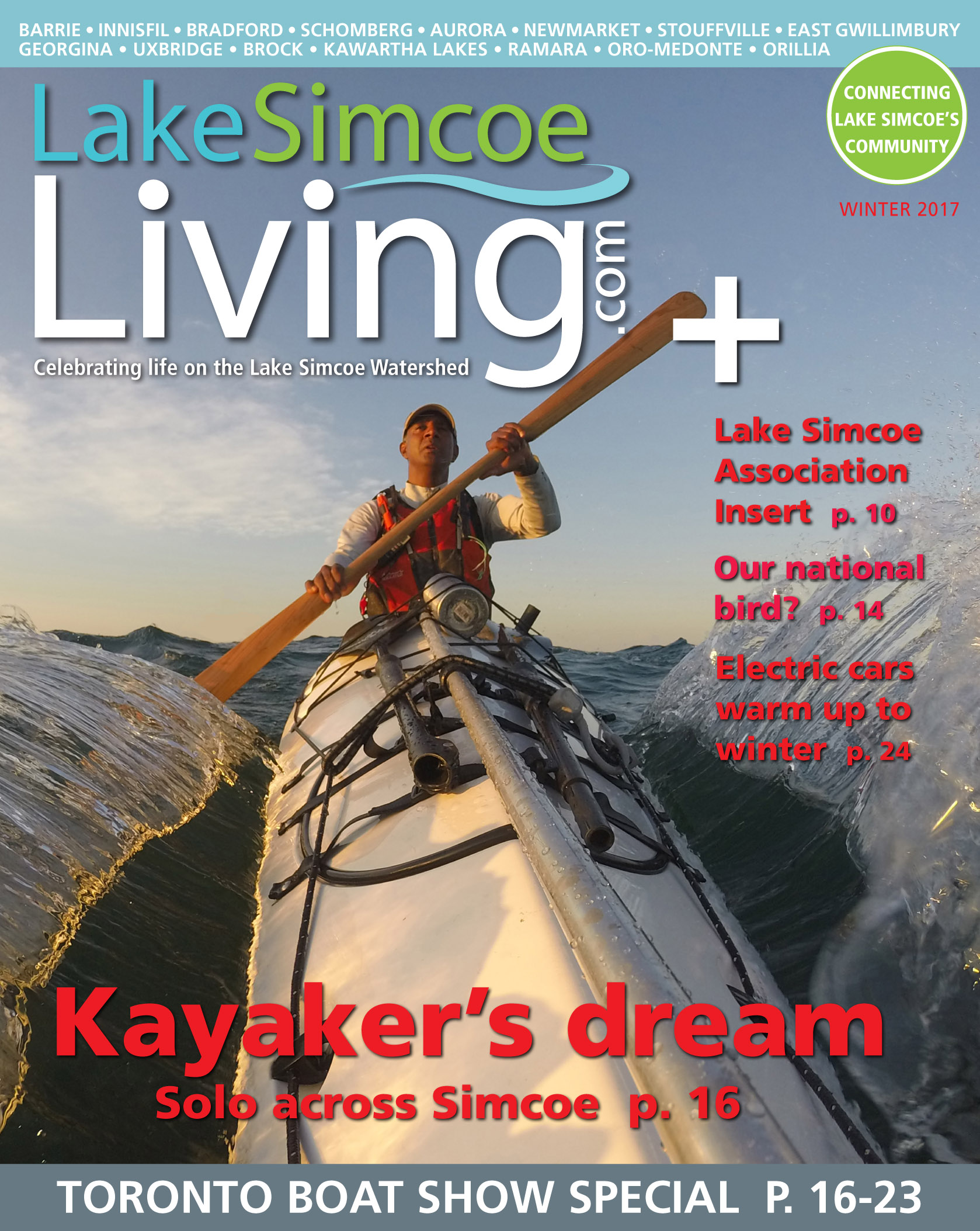 2017 Winter Issue Lake Simcoe Living